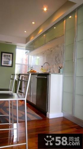 7万打造北欧风格厨房装修效果图大全2014图片