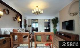 简约中式风格客厅装饰