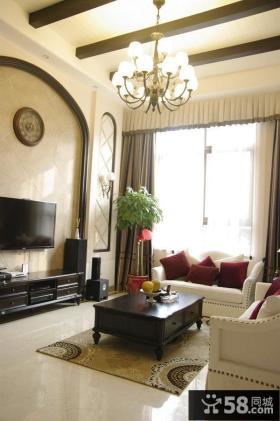 古典欧式别墅室内家居装饰图片