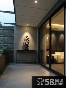 中式阳台设计图