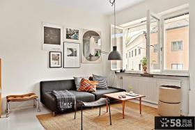 50平小户型客厅装修效果图大全2012