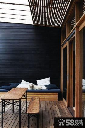 家庭装修设计室内阳台效果图欣赏