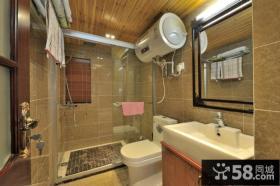 东南亚复式卫生间设计图片