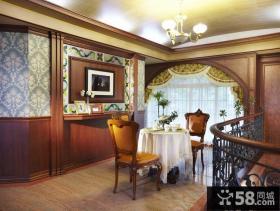 豪华欧式别墅室内设计效果图片