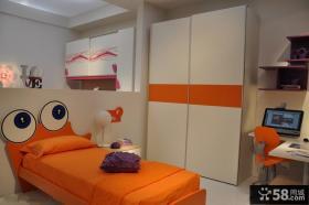 现代儿童房卧室装修效果图大全2013图片