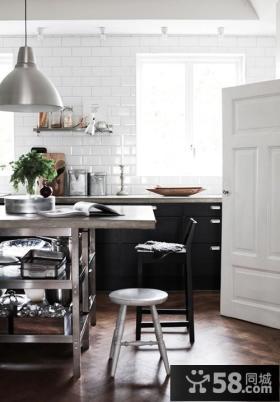 90平小户型厨房装修设计效果图大全