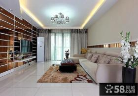 118平米现代风格三室两厅装修效果图大全