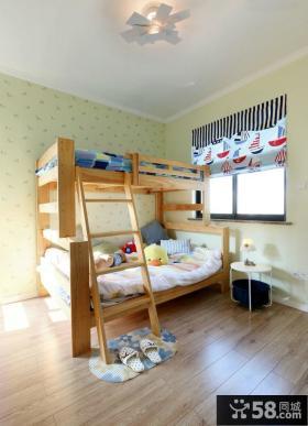 美式风格6平米儿童房