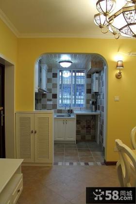 玄关厨房隔断装修效果图片