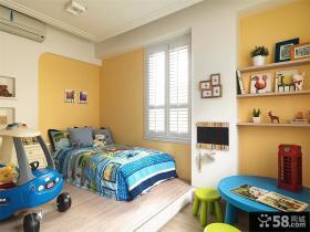 简欧复式家居装饰儿童房效果图片