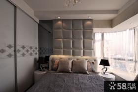 卧室床头软包背景墙图片