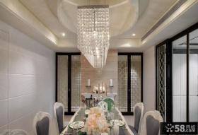 新古典风格别墅餐厅设计效果图