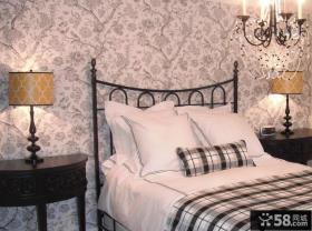 古典欧式卧室墙纸效果图