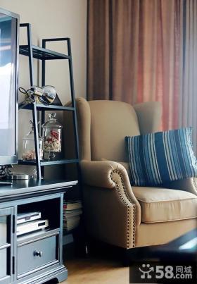 单人休闲沙发图片欣赏