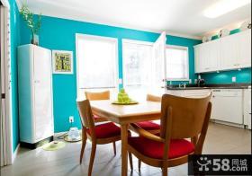 开放式厨房餐厅一体装修效果图片大全