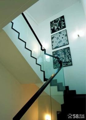 别墅楼梯装饰画效果图欣赏