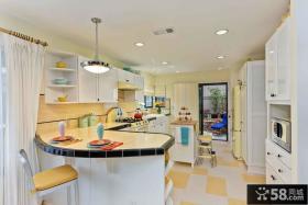 温暖美式设计厨房装潢大全