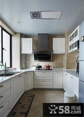 美式厨房家居装饰设计效果图