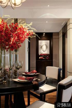 中式风格餐厅装潢图片欣赏