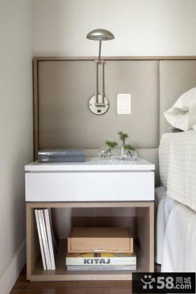 简约现代设计卧室灯具效果图