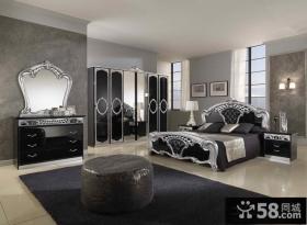 古典欧式卧室家具摆放
