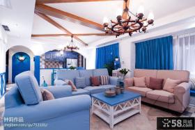 110平米复式客厅装修效果图