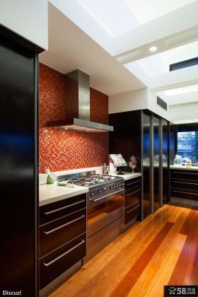 简约风格别墅厨房装修效果图欣赏