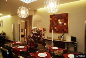 现代家装餐厅装饰
