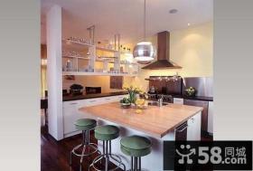 美式家装风格厨房整体橱柜图片