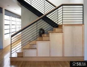 美式装修楼梯效果图大全