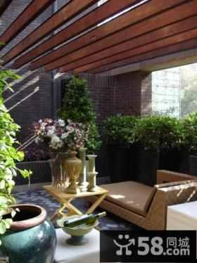 室外阳台花园装修效果图