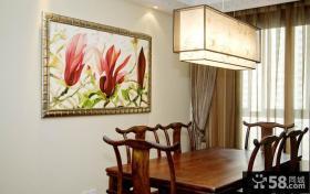 中式风格餐厅装饰画图片