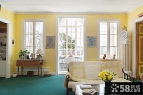 家装墙面颜色效果图片欣赏