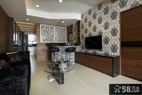 现代美式风格两居室图欣赏大全