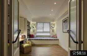 美式设计室内飘窗图片