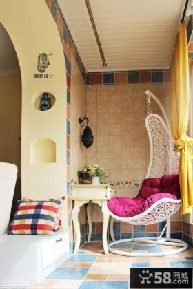 日式家庭设计阳台图片欣赏