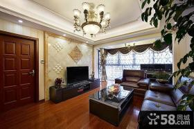 现代时尚设计客厅电视背景墙大全