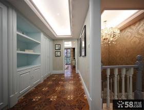 别墅室内楼梯过道装修图