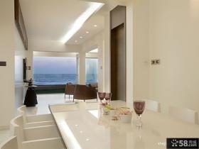 现代风格海滨豪宅别墅休闲区设计