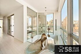 极简风格打造创意阳台飘窗装修效果图