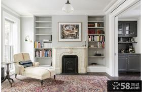 古典欧式复式室内客厅装饰效果图片