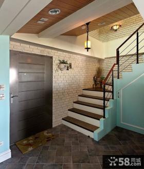 欧式小复式楼梯装修效果图