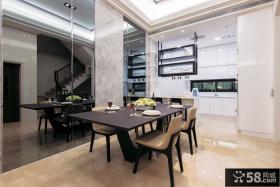 现代家居餐厅设计装修