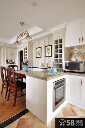美式风格厨房隔断设计