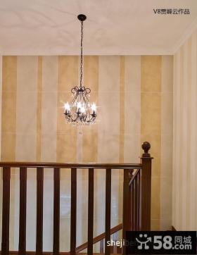 美式楼梯装修设计图