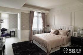 欧式家居风格卧室布艺窗帘图