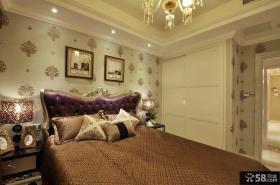 美式新古典风格卧室图片欣赏