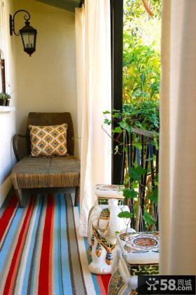 阳台装修效果图大全2012图片 露天阳台装修效果图