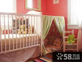 欧式简约温馨的儿童房装修效果图大全2014图片