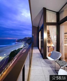 三房两厅装修效果图阳台装修效果图